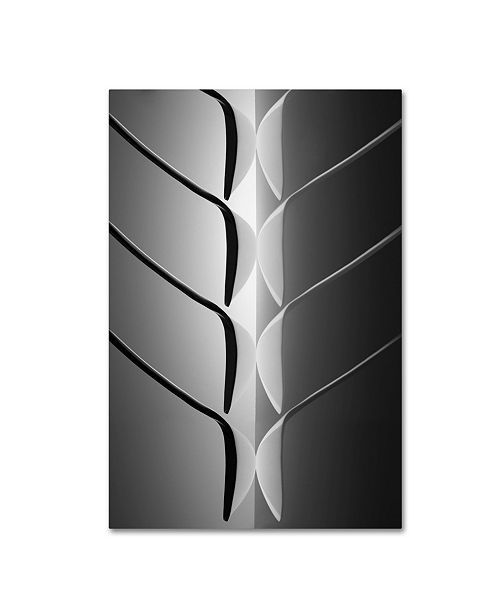 "Trademark Global Wieteke De Kogel 'Spoontree' Canvas Art - 19"" x 12"" x 2"""
