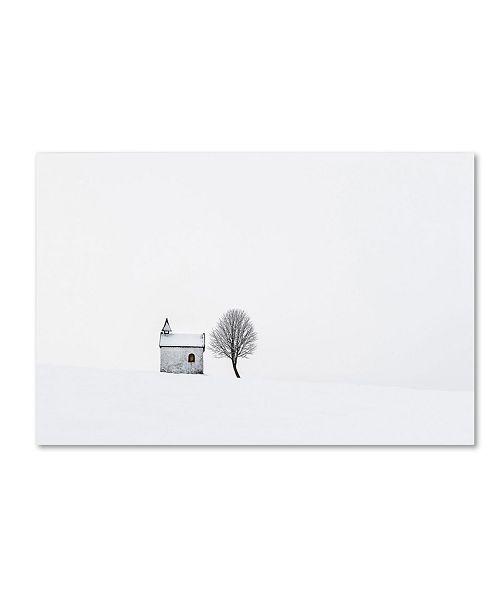 "Trademark Global Tom Meier 'The Chapel' Canvas Art - 24"" x 16"" x 2"""