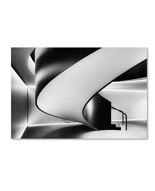 "Trademark Global Darren Kelland 'Staircase' Canvas Art - 24"" x 16"" x 2"""