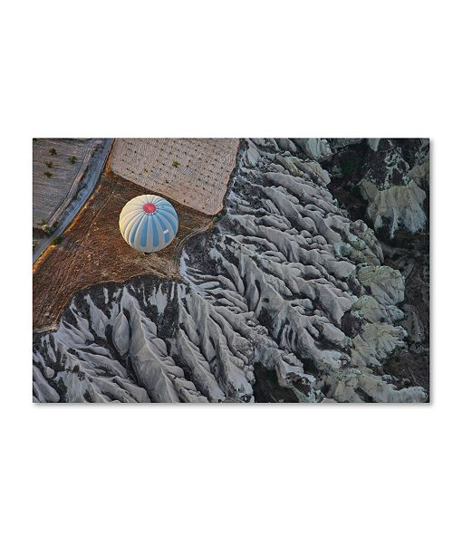 "Trademark Global David Montemurri 'Balloon' Canvas Art - 19"" x 12"" x 2"""