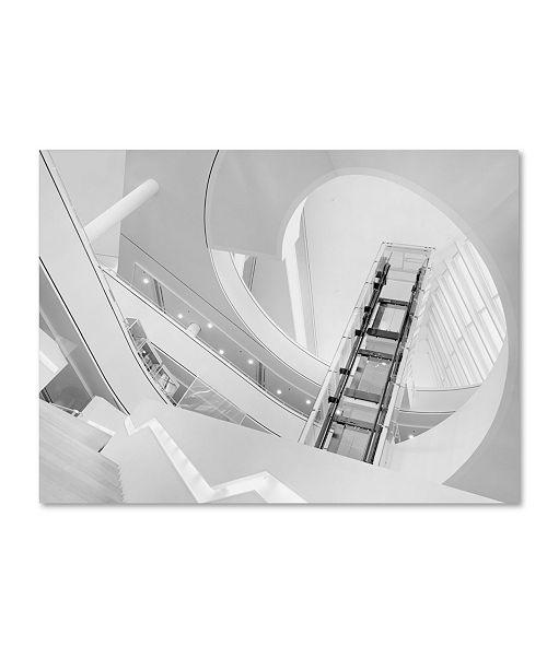 """Trademark Global Jeroen Van De Wiel 'Journey To The Light' Canvas Art - 47"""" x 35"""" x 2"""""""