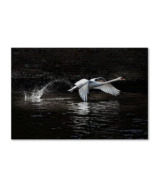 """Trademark Global Piet Flour 'Lenvol' Canvas Art - 19"""" x 12"""" x 2"""""""