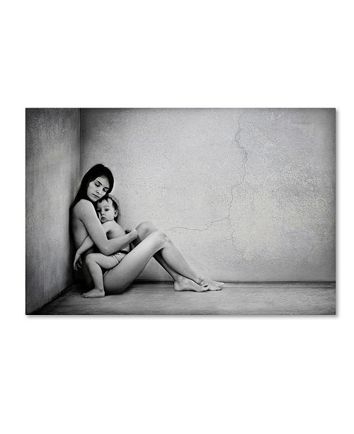"Trademark Global Tatyana Tomsickova 'Mothers Protection' Canvas Art - 32"" x 22"" x 2"""