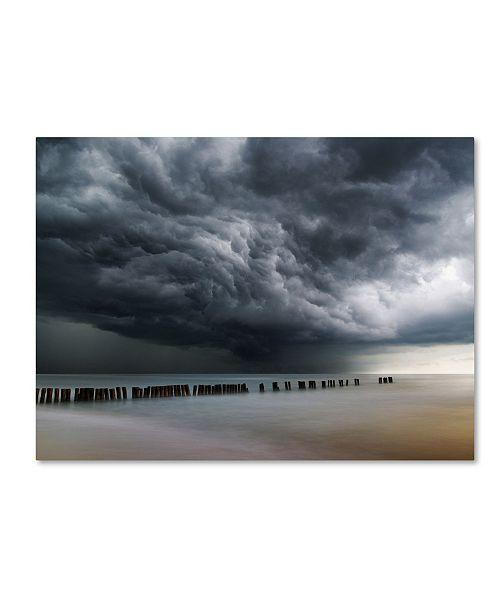 "Trademark Global Mindaugas Zarys 'Clouds' Canvas Art - 47"" x 35"" x 2"""