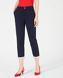 Lou Lou Pin-Dot Pants, Created for Macy's