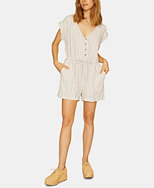 Leo Soft Short-Sleeve Romper