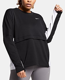 Nike Plus Size Therma Sphere Running Top