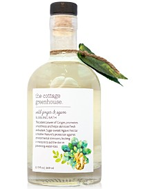 The Cottage Greenhouse Wild Ginger & Agave Bubbling Bath, 12.5-oz.