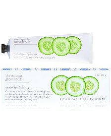 The Cottage Greenhouse Cucumber & Honey Handcreme, 4-oz.