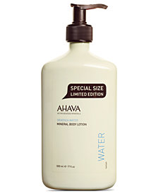 Ahava Mineral Double Size Body Lotion, 17 oz