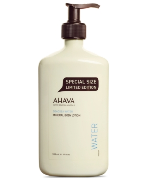 Image of Ahava Mineral Double Size Body Lotion, 17 oz