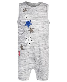 First Impressions Baby Boys Star Cotton Romper, Created for Macy's