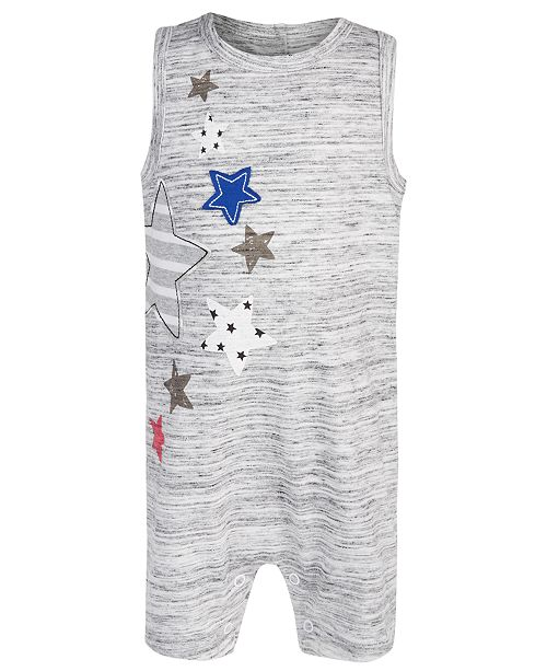 First Impressions Baby Boy Americana Sunsuit