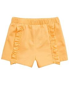 Baby Girls Ruffle Shorts, Created for Macy's