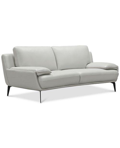 Furniture Surat 85 Leather Loveseat