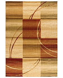 "CLOSEOUT! Kenneth Mink Area Rug, Northport C101 Multi 2'3"" x 7'7"" Runner Rug"