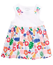 First Impressions Baby Girls Floral-Print Tank Top, Created for Macy's
