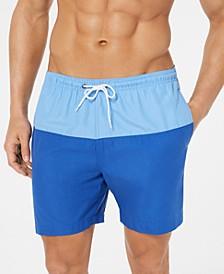 "Men's Colorblocked 6"" Swim Trunks"