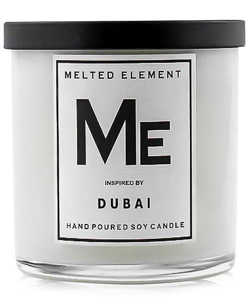 Melted Element Dubai Soy Candle, 11-oz.