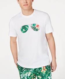 Michael Kors Men's Tropical Aviator Graphic T-Shirt, Created for Macy's