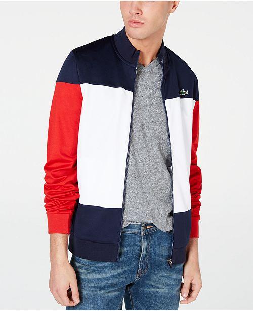 Lacoste Men's Colorblocked Track Jacket