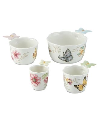 Lenox Measuring Cups, Set of 4 Butterfly Meadow Figural