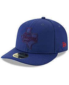 New Era Texas Rangers Clubhouse Low Profile 59FIFTY-FITTED Cap