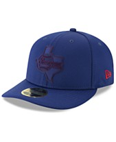 finest selection 57e47 948c6 New Era Texas Rangers Clubhouse Low Profile 59FIFTY-FITTED Cap