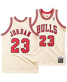 Men's Michael Jordan Chicago Bulls Authentic Gold Jersey