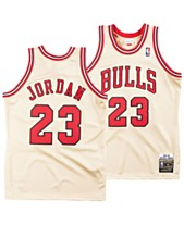 770948be0 Mitchell   Ness Men s Michael Jordan Chicago Bulls Authentic Gold Jersey