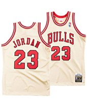 d13c9ea30 Mitchell   Ness Men s Michael Jordan Chicago Bulls Authentic Gold Jersey