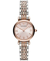 2ddf87c14caf Emporio Armani Women s Two-Tone Stainless Steel Bracelet Watch 28mm