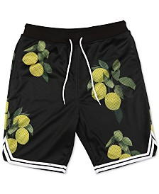 LRG Men's Graphic Mesh Shorts