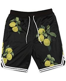 LRG Men's Graphic Mesh Shorts