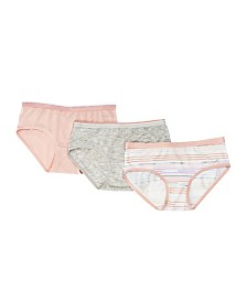 Tahari Girl 3-Pack Striped Hipster