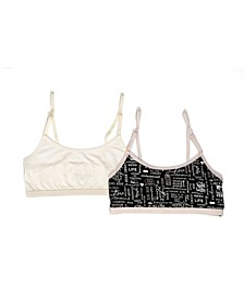 Tahari Girl 2-Pack Nerdy Girl Bra