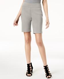 I.N.C. Stud-Trim Bermuda Shorts, Created for Macy's