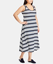 8752147b Lauren Ralph Lauren Plus Size Fit & Flare Ponté-Knit Dress