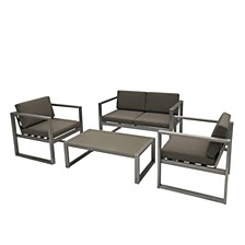 Navan Outdoor 4pc Seating Set