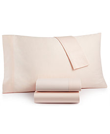 CLOSEOUT! Lucky Brand Homegrown Cotton 300-Thread Count 4-Pc. King Sheet Set, Created for Macy's