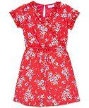 Speechless Big Girls Ruffle Floral-Print Dress
