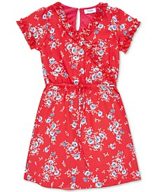 Speechless Big Girls Ruffle Floral-Print Dress