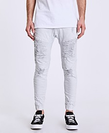 NXP Men's Signature Destroyer Drop Crotch Jeans