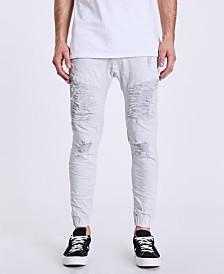 NXP Men's Signature Destroyer Drop Crotch Jeans