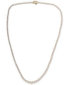 Diamond Necklace (3 ct. t.w.) in 14k White Gold or 14k Yellow Gold
