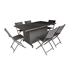 Maldives Outdoor 7pc Dining Set