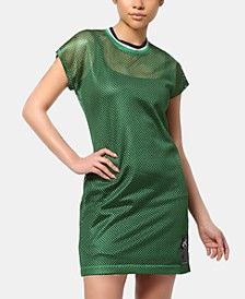 Brooklyn Mesh T-Shirt Dress