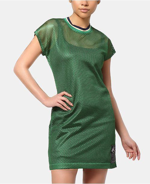 ARTISTIX Brooklyn Mesh T-Shirt Dress