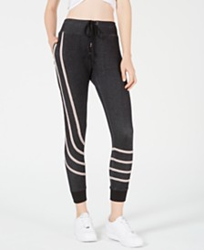 Free People Movement Far Out Striped Jogger Pants