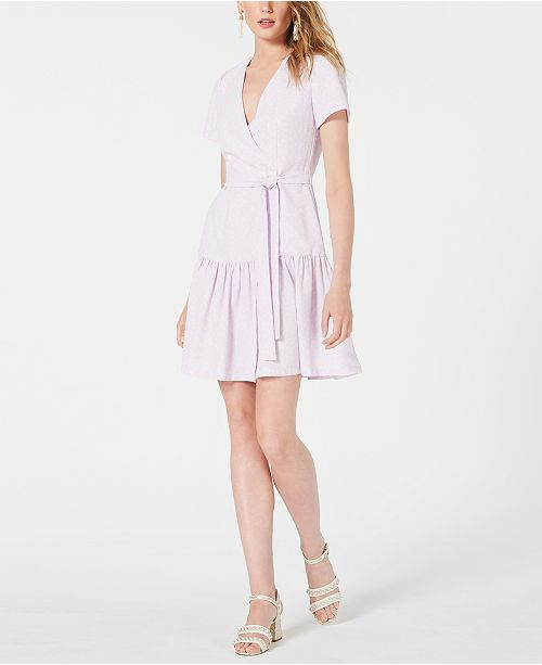 French Connection Faux-Wrap Dress